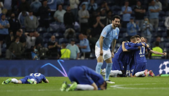 Chelsea beat Manchester City to win the UEFA Champions League