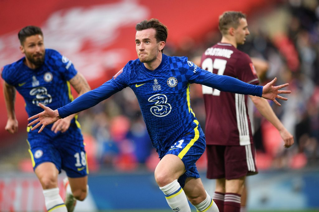 Ben Chilwell had his goal overturned against Leicester City in the FA Cup final by offside.