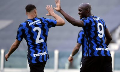 Both Achraf Hakimi and Romelu Lukaku won the Serie A title with Inter Milan this year and are linked with a transfer to Chelsea.