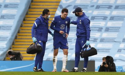 Thomas Tuchel provided an injury update on Chelsea defender, Andreas Christensen, after his fall against Manchester City.