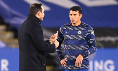 Thiago Silva thanked former Chelsea manager, Frank Lampard, after the Champions League final. (imago Images)