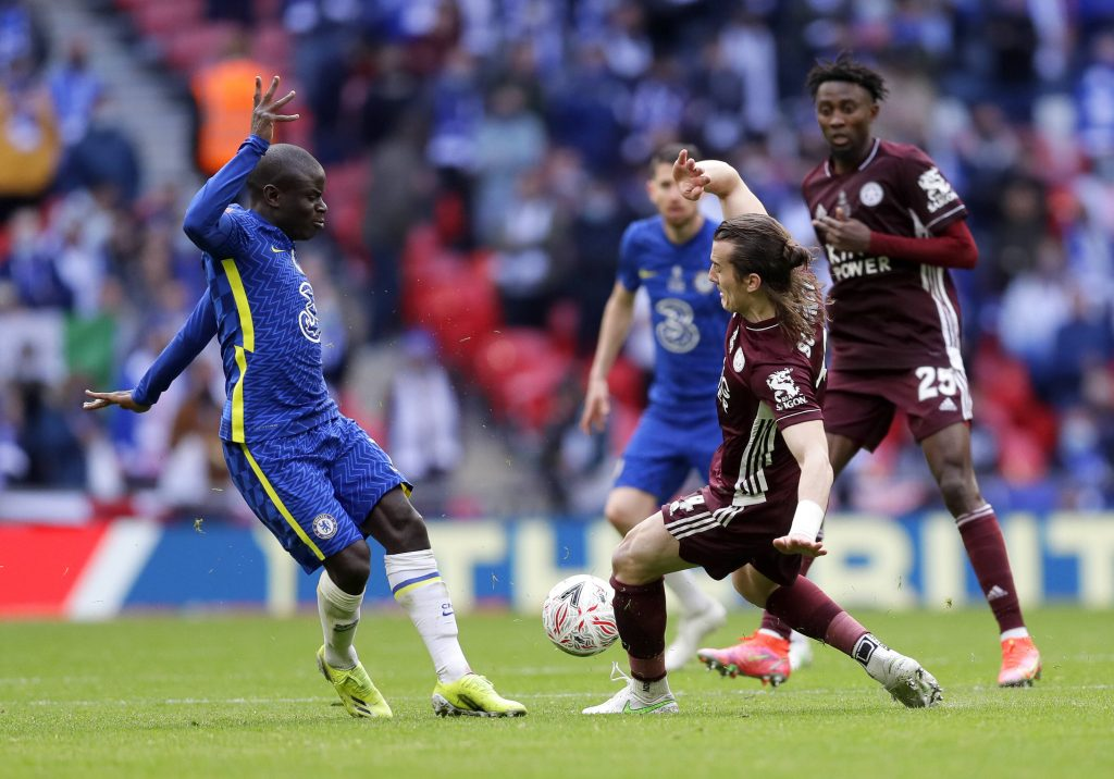 Leicester City beat Chelsea in the 2021 FA Cup final at Wembley.