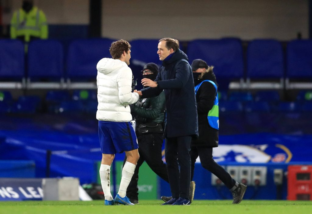 Thomas Tuchel urges Ben Chilwell to be patient and take his chances in training