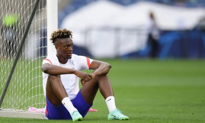 Abraham was sold by Chelsea this summer. (imago Images)
