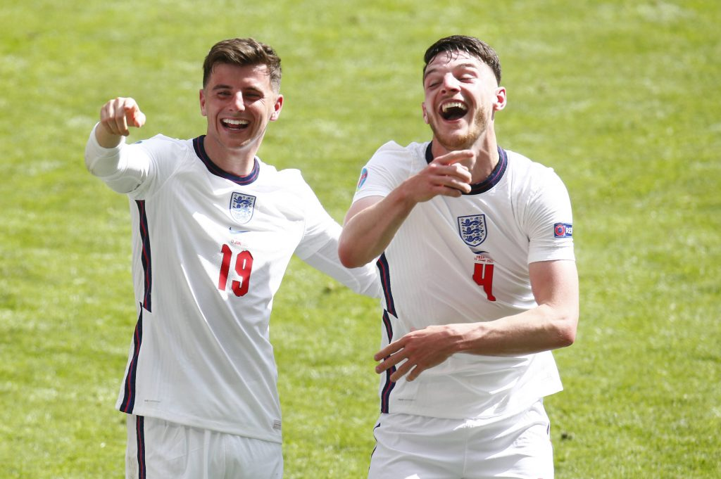 Mason Mount and England are through to the semi-finals of the UEFA Euro 2020