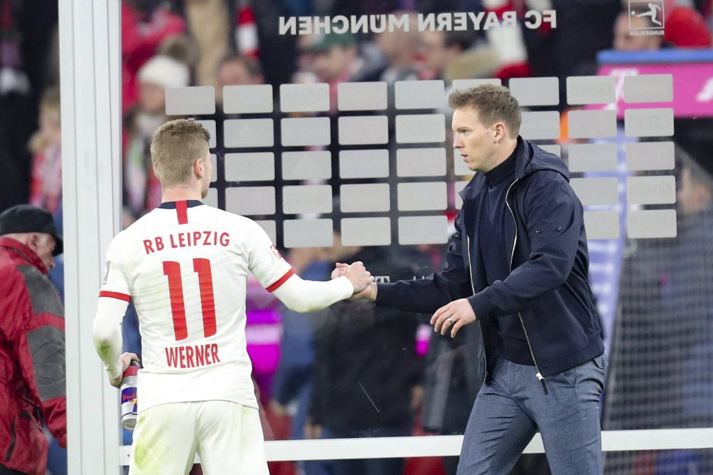 Werner has been in 'regular contact' with Bayern Munich manager Julian Nagelsmann.