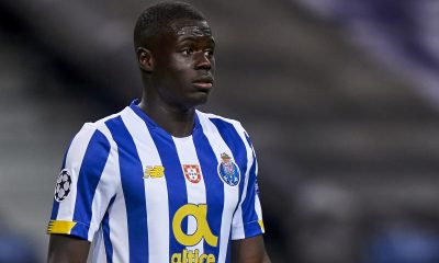 Malang Sarr spent the 2020/21 season on loan at FC Porto (GETTY Images)