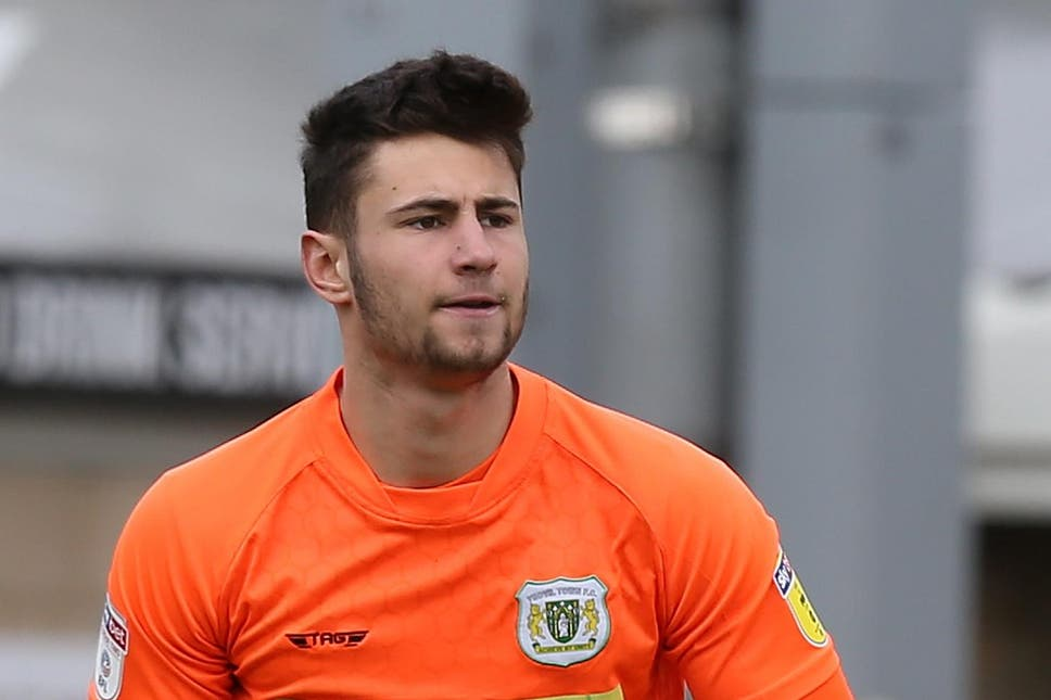 Nathan Baxter spent the last season on loan at Accrington Stanley