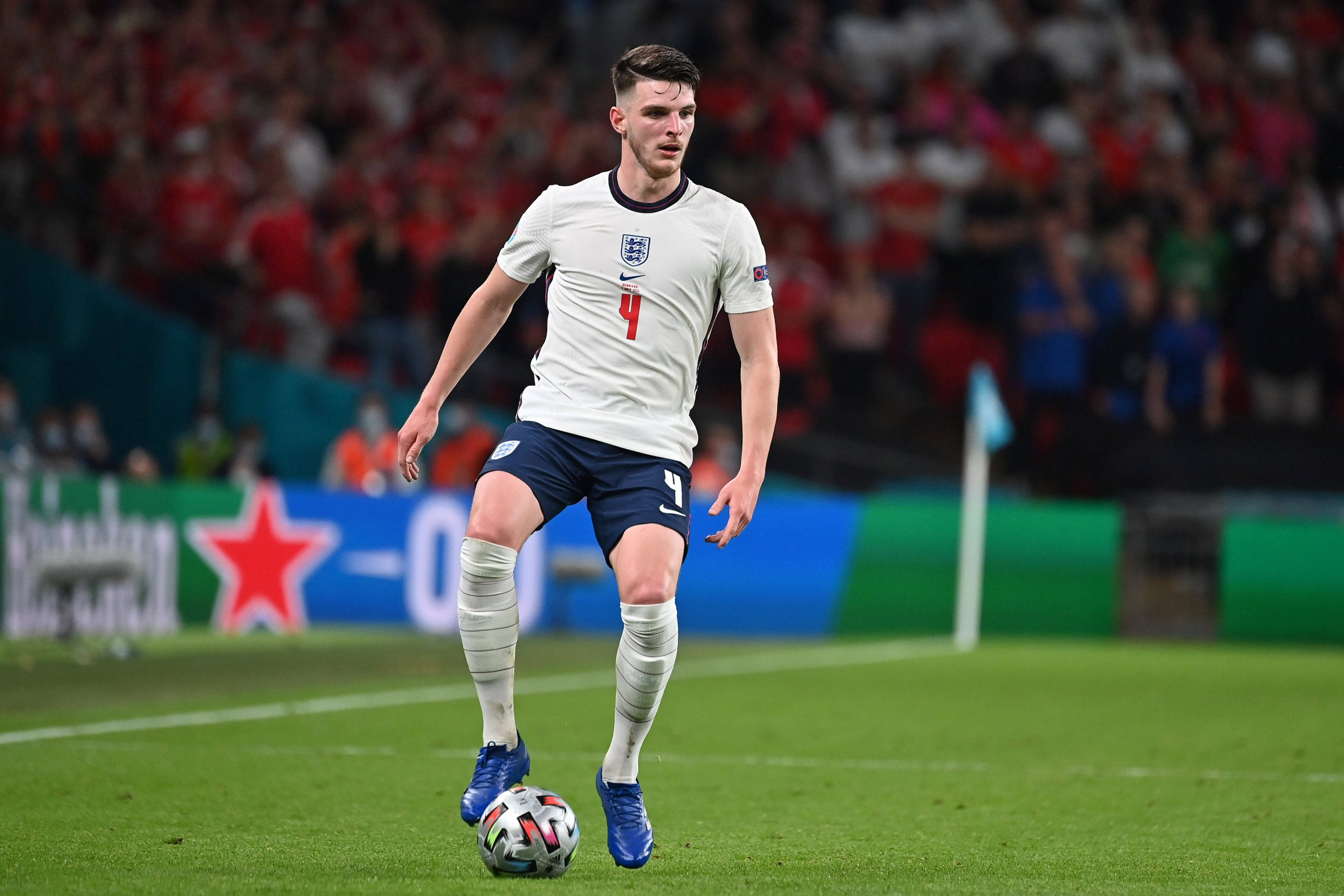 West Ham United's Declan Rice impressed at the Euros with England.