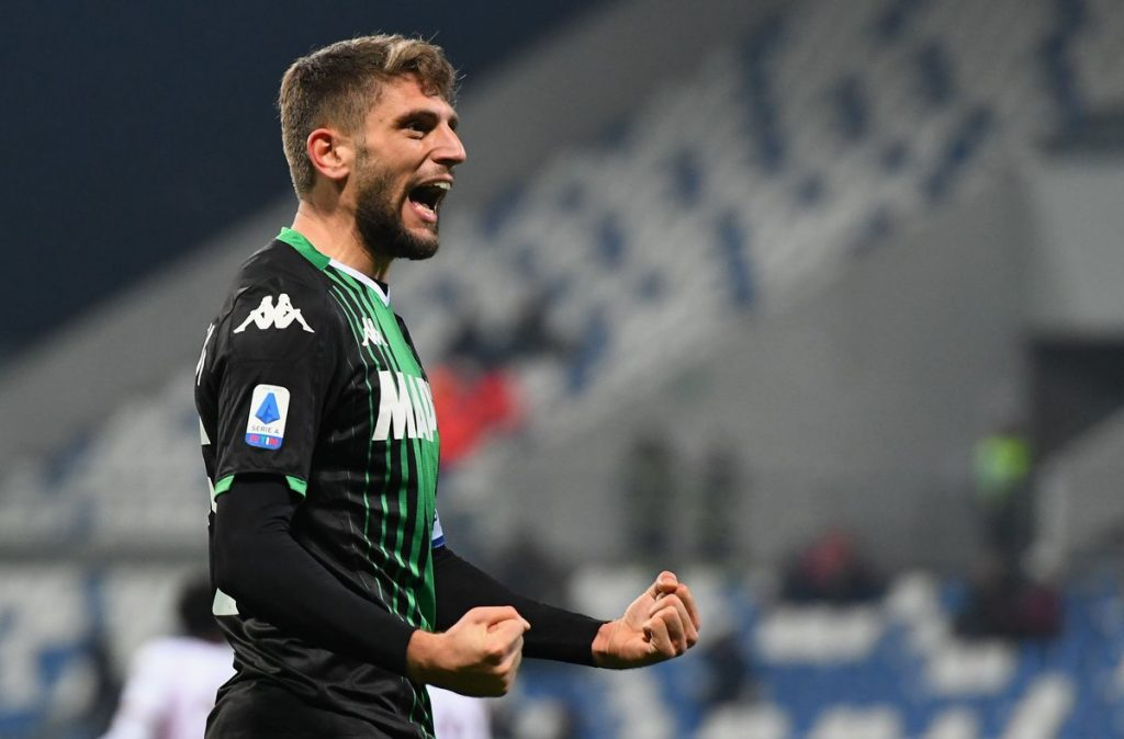 Chelsea have enquired about the availability of Sassuolo star Domenico Berardi.