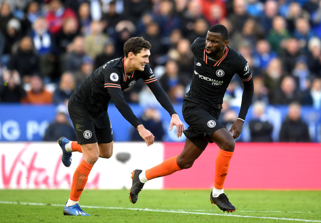 Antonio Rudiger and Andreas Christensen are in the last year of their Chelsea deals.
