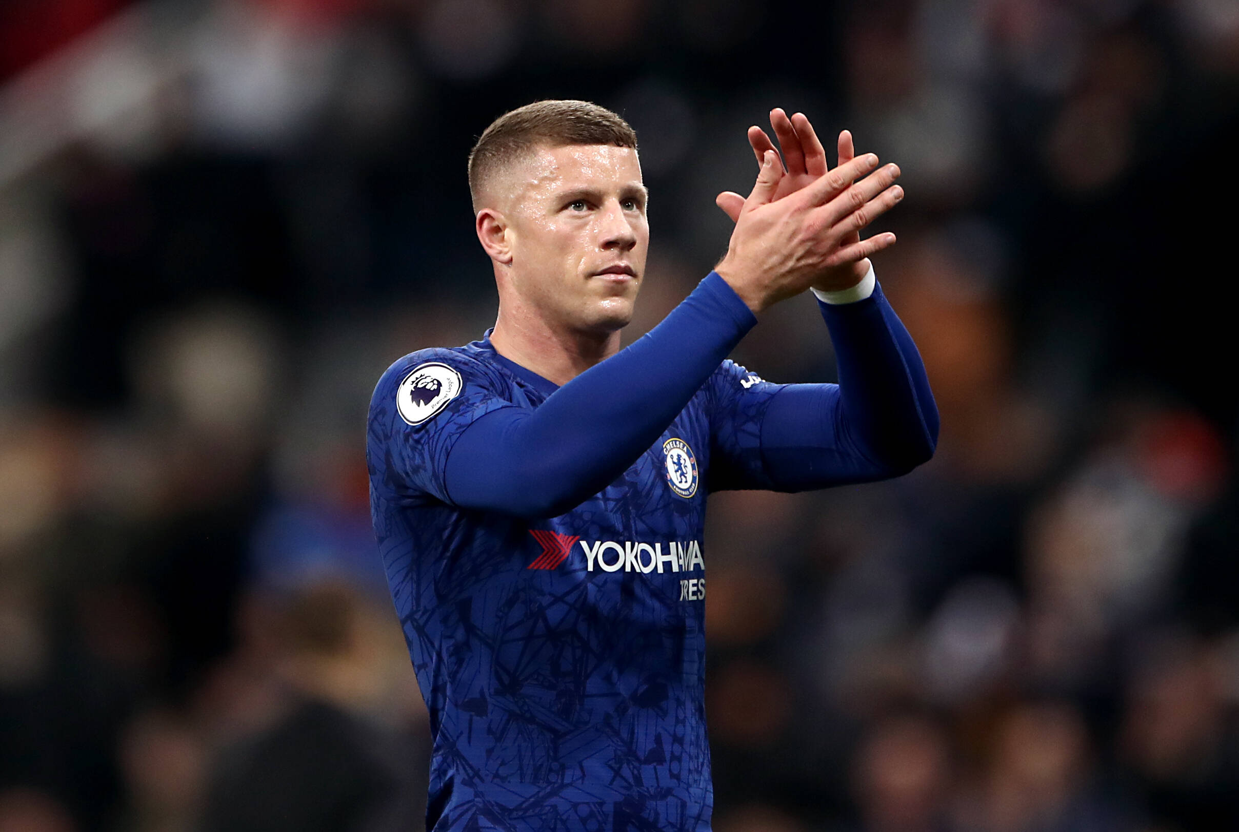 Chelsea midfielders, Ross Barkley (in picture) and Conor Gallagher are wanted by Newcastle United.
