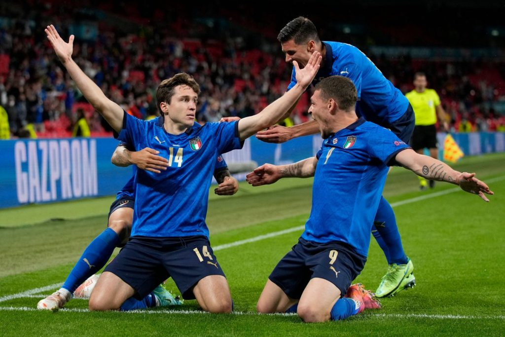 Federico Chiesa starred for Italy at UEFA Euro 2020 (Twitter)