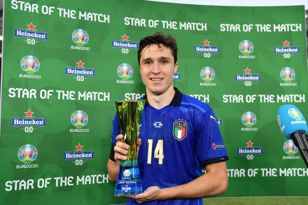 Chelsea have been handed a major blow in their hopes of landing Juventus star Federico Chiesa.