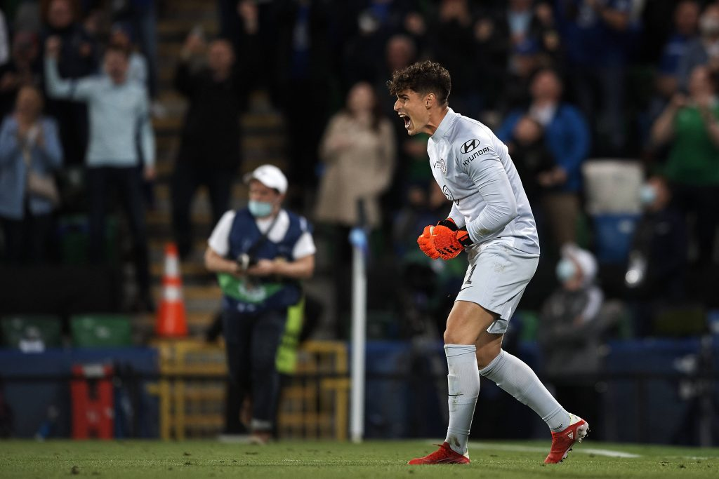 Kepa helped Chelsea to win the Super Cup