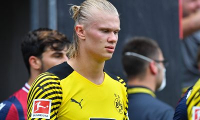 Erling Braut Haaland in action for BVB.