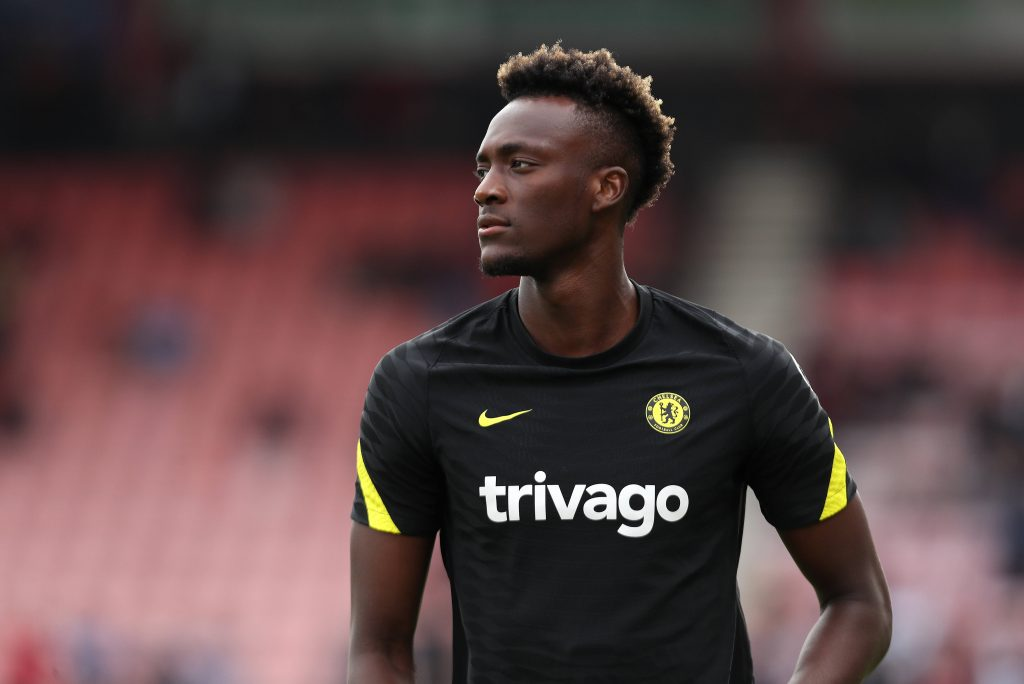 Tammy Abraham of Chelsea and England during the pre-season game against Bournemouth.