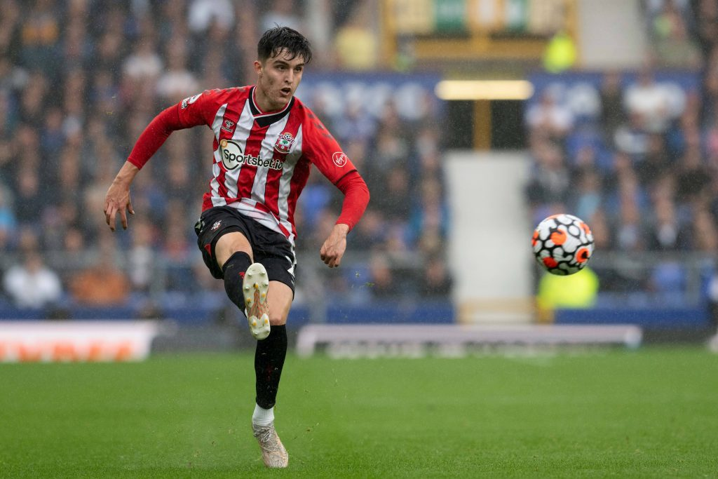 Livramento has featured in every game for Southampton