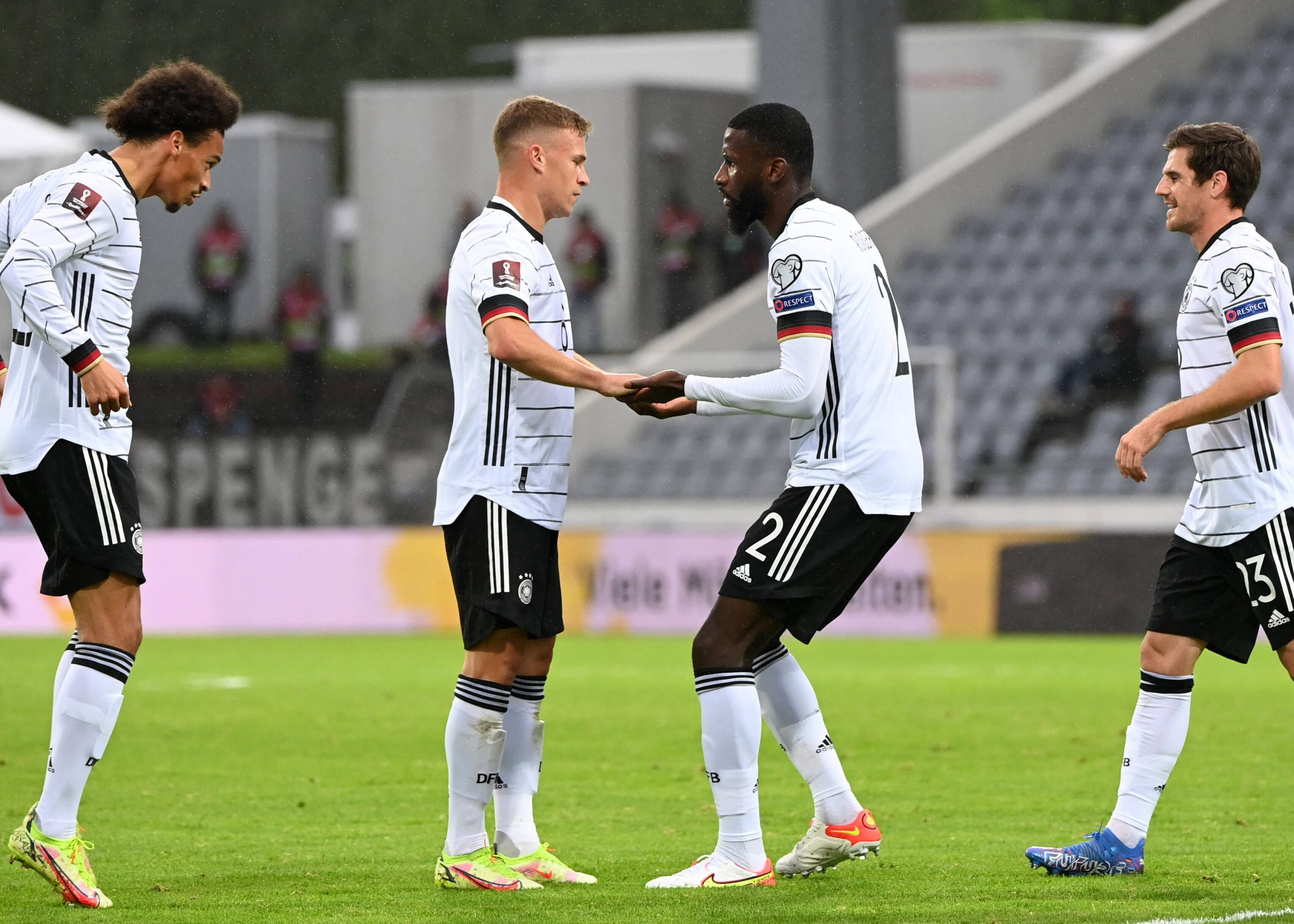 Germany beat Iceland in their World Cup qualifiers game.