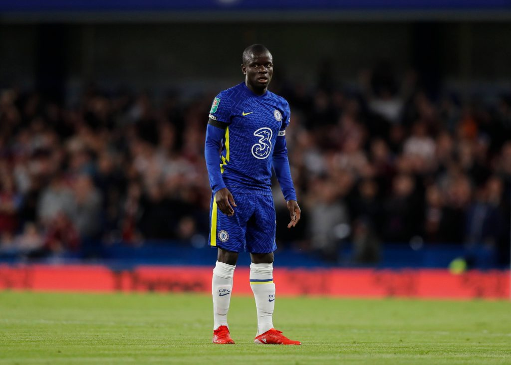 N'Golo Kante tested positive for Covid-19.