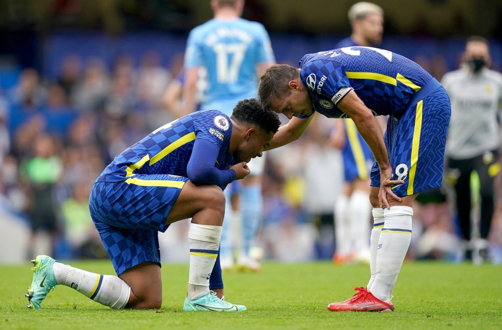Chelsea lost 0-1 to Manchester City in the Premier League