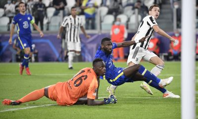 Chiesa scored the only goal as Chelsea lost this season in the UCL group game.