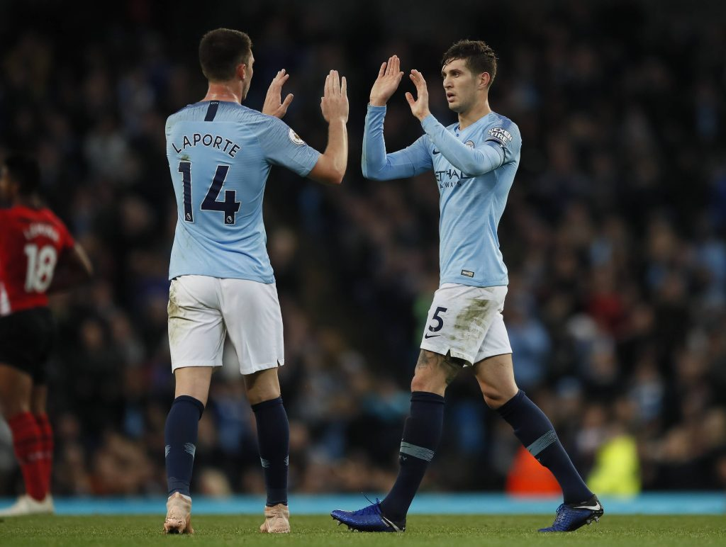 Man City defenders Stones and Laporte are back for the Chelsea clash