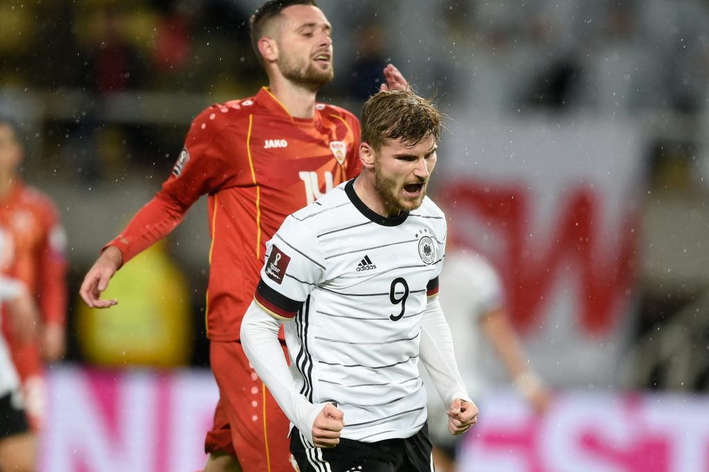 Chelsea fans react as Timo Werner helps lead Germany to Qatar 2022